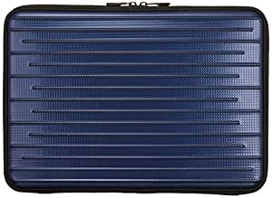 KING ノートPC用キャリングケース スリムタイプ (セミハード) ~13.3インチワイド NPSC-SLIM-13 ブルー 816566