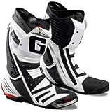 GAERNE(ガエルネ) レーシングシューズ GP-1 / ジーピーワン ホワイト 25.0cm 【総輸入元:ジャペックス】