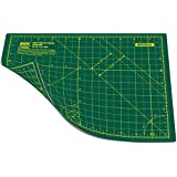 ANSIO Cutting Mat Self Healing A4 Double Sided 5 Layers Imperial/Metric 11 Inch x 8 Inch / 29cm x 21cm - Green/Green