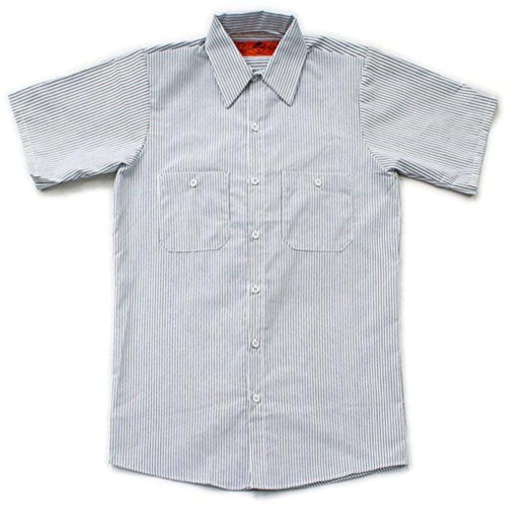唯一キリストブラシRED KAP(レッドキャップ)/SHORT SLEEVE STRIPE WORK SHIRTS(半袖ストライプワークシャツ)