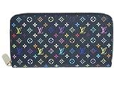 (ルイヴィトン) LOUIS VUITTON M61876 財布 ラウンドファスナー長財布 12枚カード モノグラム マルチカラー ジッピーウォレット ノワールxグルナード [並行輸入品]