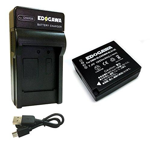 EDOGAWA DMW-BLG10/DMW-BLE9 互換バッテリー+USB充電器 PANASONIC パナソニック ED-BAT+USB