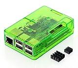 Raspberry Pi3 Model B ボード&ケースセット 3ple Decker対応 (Element14版, Green) ¥ 5,980