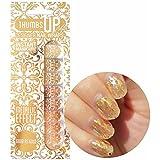 Good as Gold Metallic Nail Wraps by ThumbsUp Nails/Self-adhesive/Nail Foil Polish Strips/Full Coverage Nail Art Stickers / 20 Wraps Per Pack