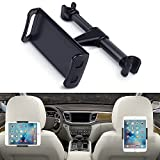 車載 タブレット ホルダー 後部座席 ヘッドレスト タブレット 360度回転式 4-11インチタブレット 引張式インストールです ヘッドレスト取付式 しっかりサポートします