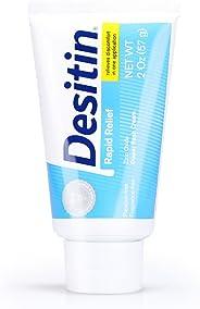 Desitin Rapid Relief Zinc Oxide Diaper Rash Cream, 57g