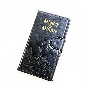 手帳型 スマホカバー ミッキー&ミニー 31694511