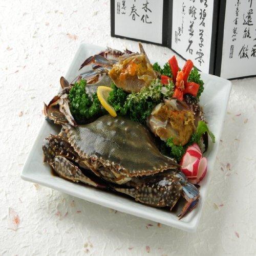 自家製  醤油味漬け (カンジャンケジャン) 1kg