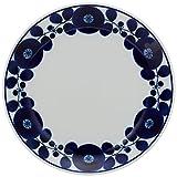 白山陶器 BLOOM ブルーム リース プレート(M) (φ19.5×2.8cm)