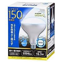 OHM LED電球 レフランプ形 E26 150形相当 昼光色 LDR16D-W 9