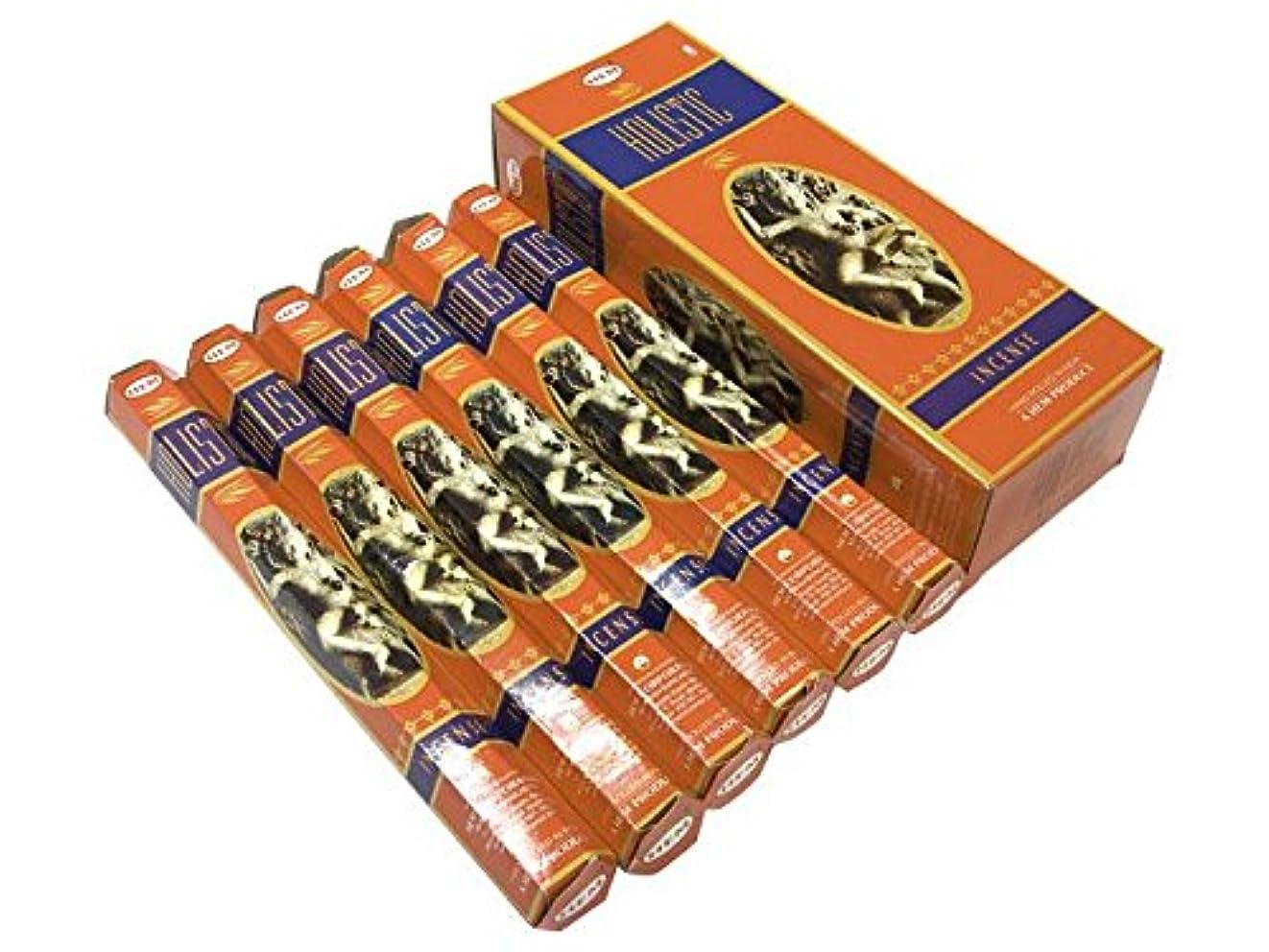 恐ろしいです稚魚あらゆる種類のHEM(ヘム)社 ホリスティック香 スティック HOLISTIC 6箱セット
