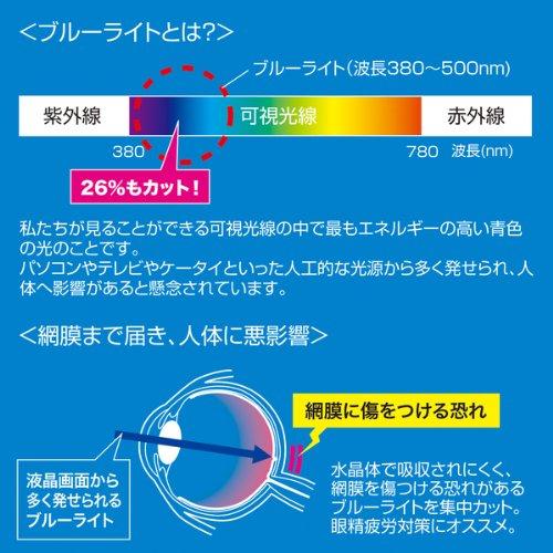 サンワサプライ iPad第4/3/2世代用ブルーライトカット液晶保護フィルム LCD-IPAD4BC