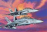 ドラゴン 1/144 アメリカ海軍 F/A-18 F スーパーホーネット VFA-11 レッドリッパーズ & VFA-211 ファイティングチェックメイツ 2機セット プラモデル