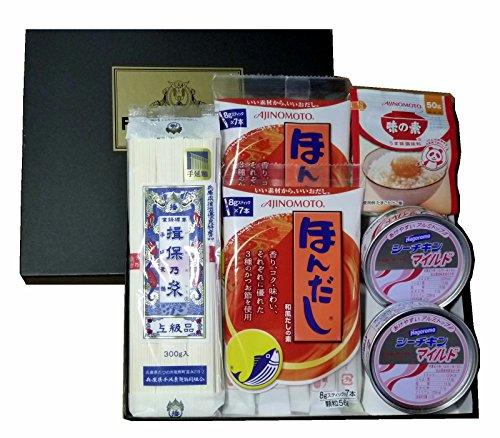 揖保乃糸サマーギフト有名食品詰合セットIBJ6