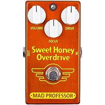 Mad Professor マッドプロフェッサー エフェクター FACTORY Series オーバードライブ Sweet Honey Overdrive FAC 【国内正規品】