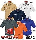 BURTLE バートル  半袖ジャケット(春夏用)  6082 ネイビー Lサイズ