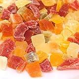 7種類のドライフルーツミックス (キウイ・イチゴ・パイナップル・パパイヤ・マンゴー・メロン・りんご)500g入り