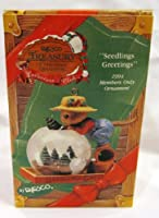 Enesco財務省のクリスマス装飾seedlings Greetingsオーナメントtr933