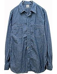(オアスロウ) orslow シャンブレー ワークシャツ chambray shirts 【01-8070】