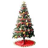 タンスのゲン クリスマスツリー セット 180cm オーナメント 10種 LED 8パターン イルミネーション付き レッド 16910004 01