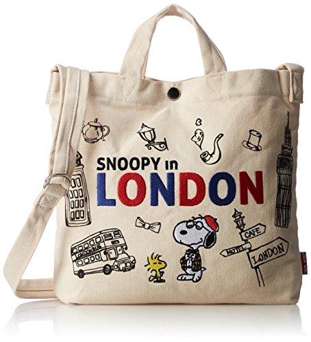 [해외][스누피] 스누피 캔버스 숄더 토트 M spr-269b/[Snoopy] Snoopy Canvas Shoulder Tote M spr-269b