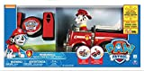 Paw Patrol Fun and Exciting、RC Vehicle andプッシュボタンコントローラマーシャルFire Truck inレッドhelps開発hand-eye Coordination for Youngドライバ