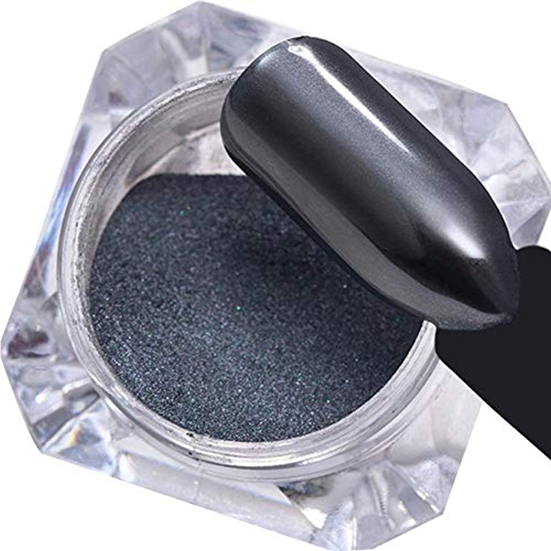 有利艶十分にミラーパウダー ネイルアートパーツ ネイルパウダー ネイルデコレーション ミラーネイル グリッターパウダー 美しい 人気なマニキュアセット ブラック junexi
