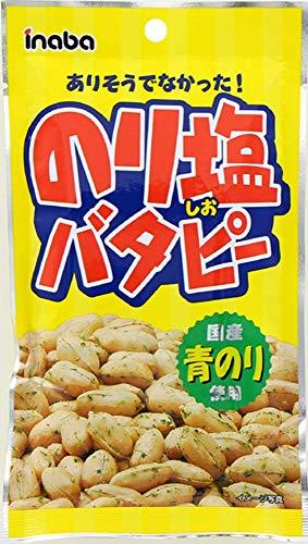 稲葉ピーナツ のり塩バタピー 52gx1袋