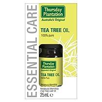 木曜日プランテーションティーツリーオイル25ミリリットル (Thursday Plantation) (x2) - Thursday Plantation Tea Tree Oil 25ml (Pack of 2) [並行輸入品]