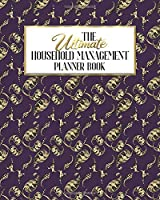 The Ultimate Household Management Planner Book: Purple Peacock | Home Tracker | Family Record | Calendar | Contacts | Password | School | Medical Dental Babysitter | Goals Financial Budget Expense