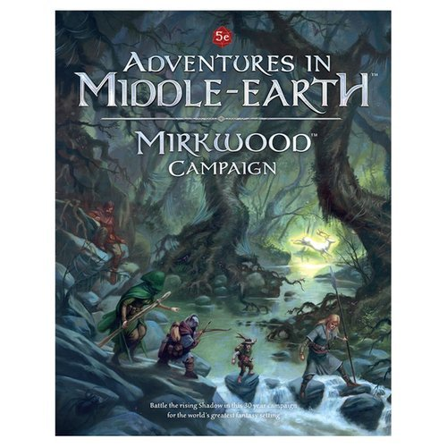 Cubicle 7 Entertainment CB72304 Mirkwood Campaign Adventures in Middle Earth