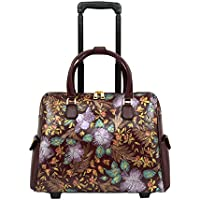 Mellow World Gardenia Hb17328, Carry-on Rolling Luggage, 21-inch, Wine, One Size