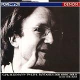 テレマン:無伴奏オーボエのための12の幻想曲