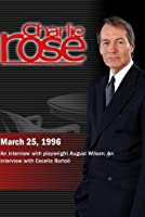 Charlie Rose with August Wilson: Cecilia Bartoli (March 25 1996) [並行輸入品]