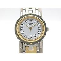 (エルメス) HERMES 腕時計クリッパー レディース時計 GP/SS CL4.220 中古