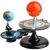 F Fityle ソーラーシステムモデル 太陽 地球 月 太陽系 知育玩具 宇宙?天文