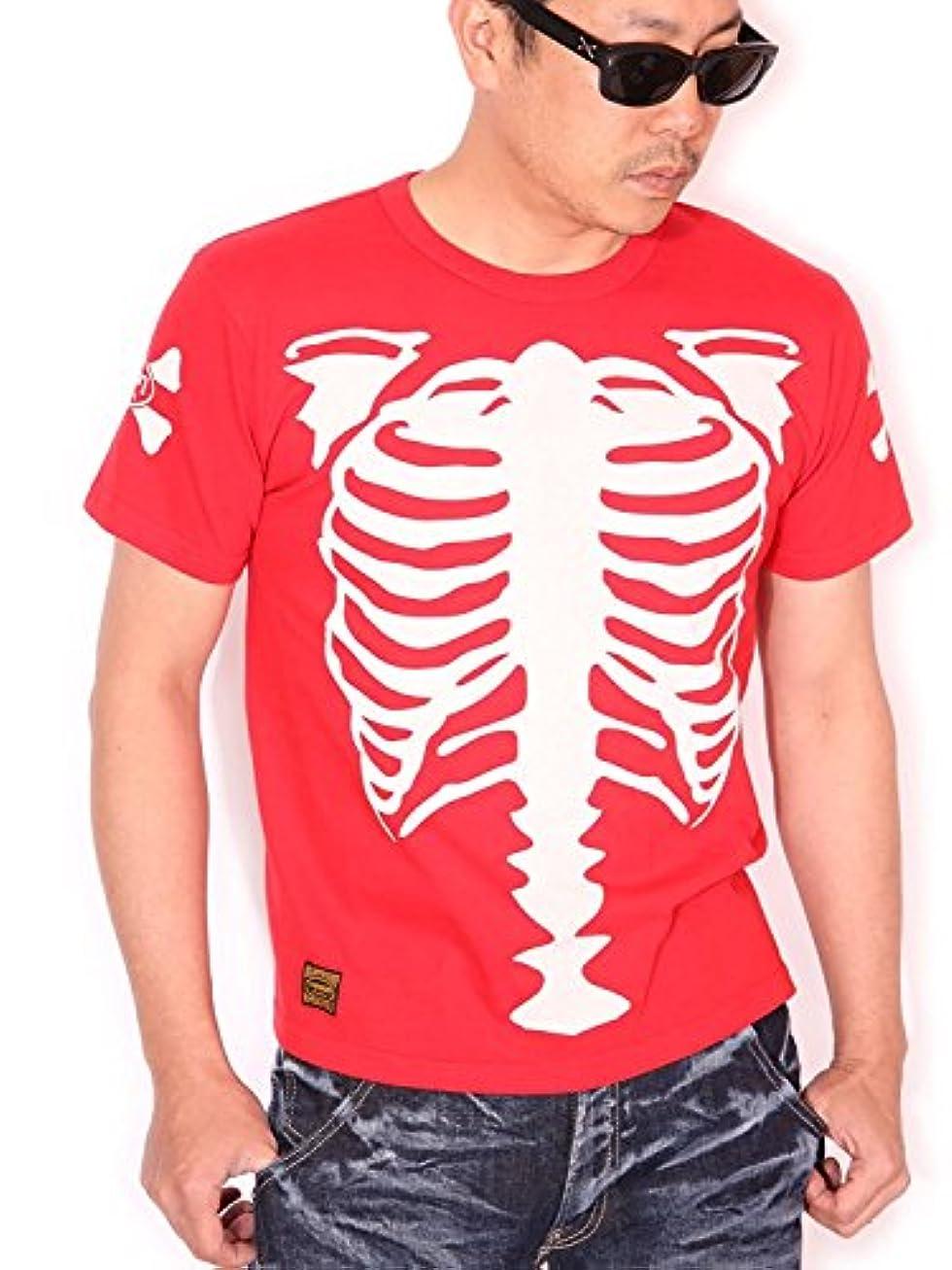 仕えるランク偽善者(バンソン) VANSON リアルボーン×オーバルロゴ 半袖 Tシャツ NVST-819