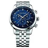 Louis Erard HeritageコレクションSwiss Quartz Blue Dial Men 's Watch 13900aa05。bma38
