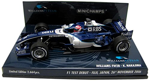Minichamps DP 1/43 ウィリアムズテストカー 富士SPW 中嶋一貴2006
