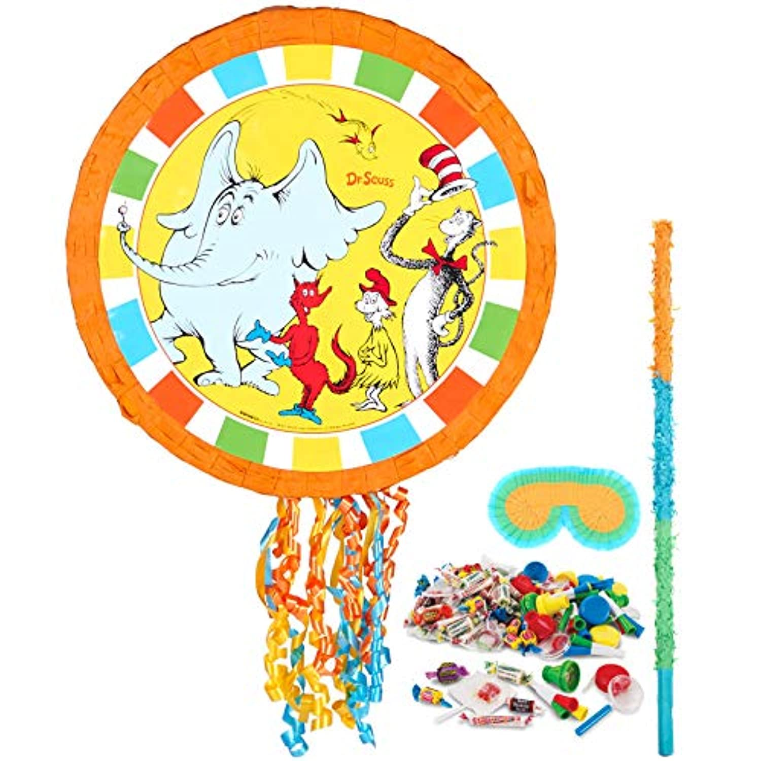 Dr Seuss Cat in the Hat Party Supplies – Pinataキット