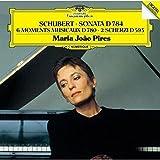 シューベルト:楽興の時 D,780、ピアノ・ソナタ 第14番 D.784、2つのスケルツォ D.593