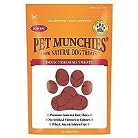 [Pet Munchies ] 犬の訓練の扱い50グラムアヒル空腹感をペット - Pet Munchies Duck Dog Training Treats 50g [並行輸入品]