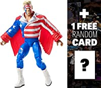Sting: WWE Elite Collection Action Figure + 1 FREE Official WWE Trading Card Bundle