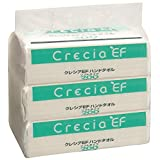 クレシア EFハンドタオル ソフトタイプ 2枚重ね 200組(400枚)×3パック