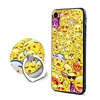 SuperIE IPhone 7 IPhone 8 専用 カバー スマホケース 携帯ケース リング付き 絵文字 携帯カバー ソフト 耐衝撃 指紋防止 全面保護 軽量 スクラッチ防止 スマホ アイフォンケース