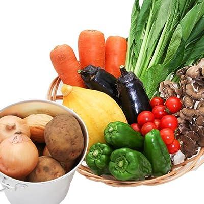 ぐるめライン 野菜セット 有機JAS認定野菜 特別栽培野菜 (お試しセット6〜7品)