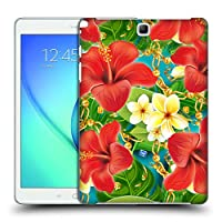 オフィシャル Mark Ashkenazi ハイビスカス トロピカル Samsung Galaxy Tab A 9.7 専用ハードバックケース