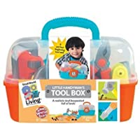 Small World Toys Living - Little Handyman's Tool Box 17 Pc. Playset [並行輸入品]