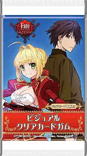 Fate/EXTRA Last Encore ビジュアルクリアカードガム 20個入りBOX (食玩)