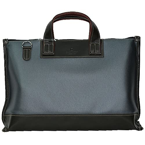 日本製 ブリーフケース ビジネスバッグ 26552 グレー 超撥水 防汚 高耐久 バック 鞄 豊岡製 国産 かばん 手提げ ショルダー 2WAY PHILIPE LANGLET